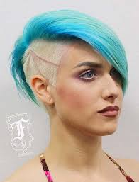 45 undercut hairstyles with hair tattoos for women with short or