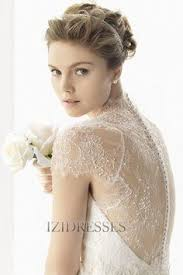 izidress robe de mari e 64 98 robe demoiselle d honneur courte en dentelle à encolure