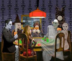 Halloween Monster Games by Classic Monsters Not Playing Poker Playing Halloween Game