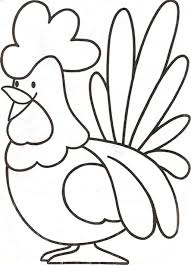 rooster coloring pages for children coloring pages kids