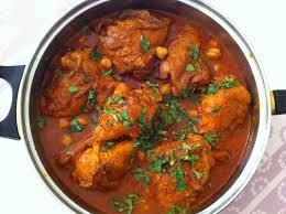 cuisine algeroise poulet en sauce à l algeroise chtetha djedj du tout cuit