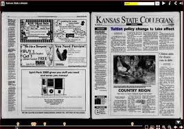 Kansas travel box images Kansas state collegian newspapers in print and online research JPG