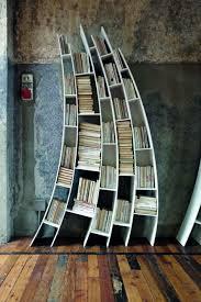 unique stone bookshelf creative furniture unusual bookshelves