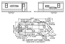 ice fishing shanty plans design floor plans 20 u0027 custom cottage