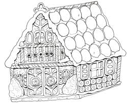gingerbread house coloring pages pertaining to fantasy cool