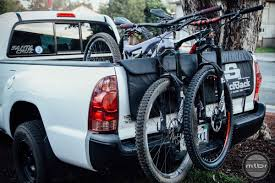homemade pickup truck bikes homemade tailgate bike rack best tailgate pad dakine