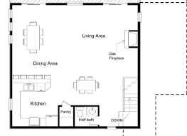 guest house floor plans small guest house floor plans home on a lake or as a small home