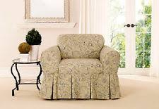 Slipcovers For Chair And Ottoman Canvas Furniture Slipcovers Ebay