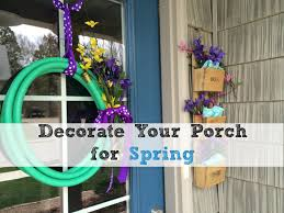 front porch decor ideas decorating ideas for your spring porch youtube