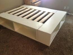 amazing queen platform bed frame plans u2013 activegift me