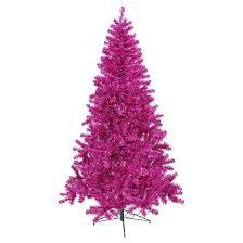 4 ft pre lit fuchsia tree purple lights target