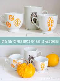 halloween coffee mug ridiculously easy diy graphic fall u0026 halloween coffee mugs