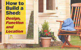 How To Build A Shed Design by How To Build A Garden Shed Design Function U0026 Location