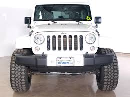 jeep sahara 2016 white jeep wrangler unlimited sahara lifted in texas for sale used