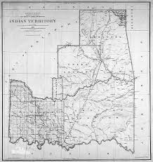 Standing Rock Reservation Map Maps Of Indian Territory The Dawes Act And Will Rogers