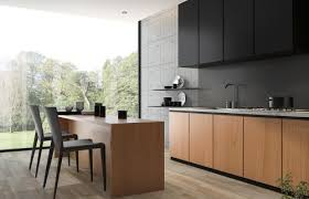 light wood kitchen cabinets with black countertops two tone kitchen cabinets to inspire your next redesign