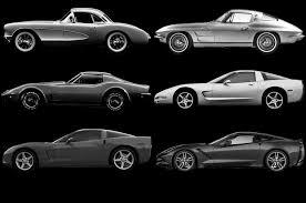 corvette all models corvette mustang evolve through the years motor trend wot