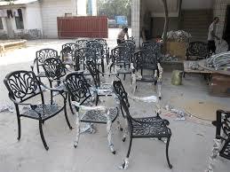 Black Iron Patio Chairs Metal Patio Furniture Youtube Black Metal Patio Chairs Twinkle