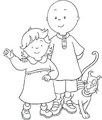 Caillou Coloring Pages Sprout Best Images On Birthdays And Candy Sprout Coloring Pages