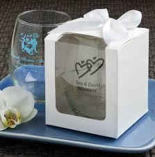 stemless wine glasses wedding favors personalized stemless wine glasses