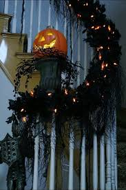 Decorated Halloween Trees Halloween House Decorations Ideas