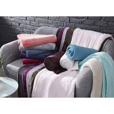 jeté de canapé pas cher plaid jeté de canapé en polaire polyester très doux et moelleux