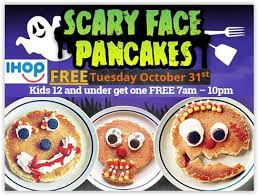Get Free Pancakes At Participating Free Pancakes For 12 From Ihop 10 31 Only Coupon