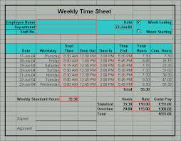 Excel Template For Timesheet Ms Excel Employee Sheet Calculator