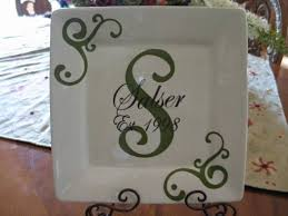 personalized wedding plate gift best 25 personalized plates ideas on birthday plate