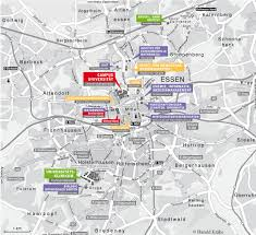 Essen Germany Map by Campus Map