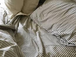red land cotton u2014 lawrence ticking stripe sheet sets