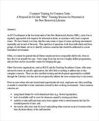 training proposal cover letter template botbuzz co