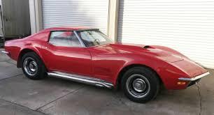 1971 corvette parts 1971 corvette 350 4 speed t top runs many parts for