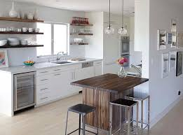 Island Tables For Kitchen by Charming Island Table For Kitchen Situated In Modern Urban House