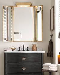 brass bathroom mirrors the most 99 best tri fold vanity mirror images on pinterest tri