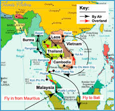 Montana travel asia images Southeast asia travel map travel map vacations jpg