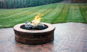 Fire Pit Parts by Fire Pit Kits Winkler U0027s Lawn Care U0026 Landscape