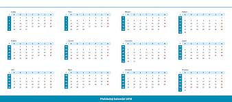 Kalendář 2018 Svátky Tisk Stolních Kalendářů S Vlastními Fotkami Inetprint Cz