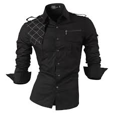 designer hemden mã nner jeansian herren freizeit hemden shirt tops mode langarmshirts slim