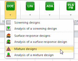 tutorial xlstat mixture design in excel tutorial xlstat