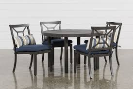 outdoor martinique 5 piece dining set living spaces