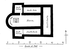 file plan of the romano british church silchester hants png file plan of the romano british church silchester hants png
