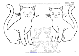 cats color picture cat family