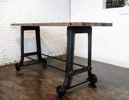 Reclaimed Wood Bar Table Outstanding Wooden Bar Table Crowdbuild For Within Reclaimed Wood