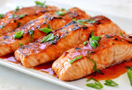 chili cuisine broiled salmon with chili glaze once upon a chef