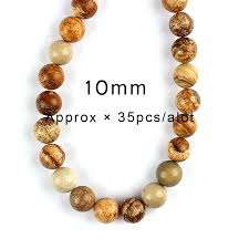 necklace stone beads images 4 6 8 10 12 mm natural map stone beads necklace natural round jpg