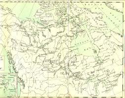 Cumberland Lake Map Arctic Archipelago Early Explorers David Thompson