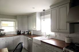 Updating Our Kitchen Cabinets With New Mouldings The Creek Line - Kitchen cabinets moulding
