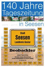 Samtgemeinde Bad Grund Seesener Beobachter 140 Jahre Sonderausgabe By Jörg Ahlburg Issuu