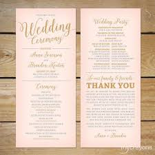 wedding programs exles wedding bulletins wedding program exles wedding program wording